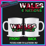 WALES 6 NATIONS RUGBY MUG